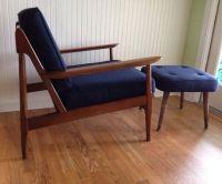Vintage Danish Modern Chair Eames Era Mid Century Chair ...