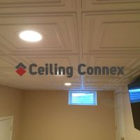 CeilingConnex PVC Mission Ceiling Tiles with our Direct ...