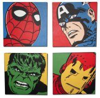 Superhero wall art, Pop art and Boys on Pinterest