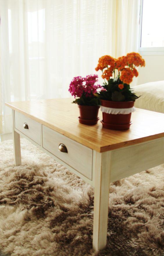 Mesa ratona rstica con tapa de madera y dos cajones Hac click y encarg la tuya httpwwwraiznegracommesasratonas37mesaratona