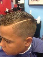 boys haircuts with lines haircut