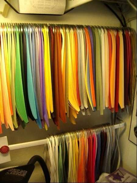 quilling paper storage: