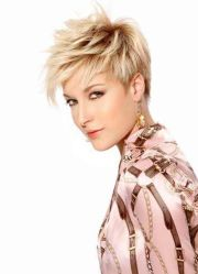 short layered pixie cut large