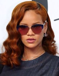 Rihanna in new ginger hair color! | Favourite Riri Outfits ...