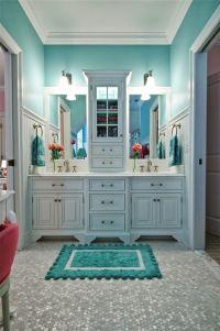 Tiffany Blue bathroom | deko | Pinterest | The floor ...