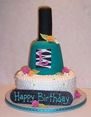 nail polish- manicure cake cakes