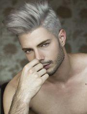undercut bleach hair and interesting