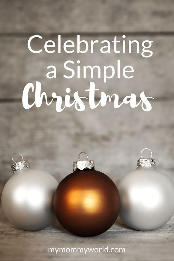 Overwhelmed at the thought of all you have to do during Christmas? Celebrate more simply this year with simple Christmas gifts, simple Christmas decorations, and simple Christmas craft ideas to take off some of the pressure to create the perfect holiday for you and your family and friends.: