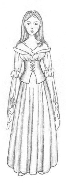 Drawings, Renaissance and Renaissance clothing on Pinterest