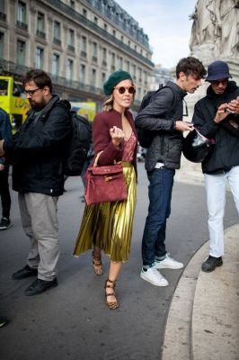 Paris Fashion Week Street Style Photos Spring 2016 | WWD: