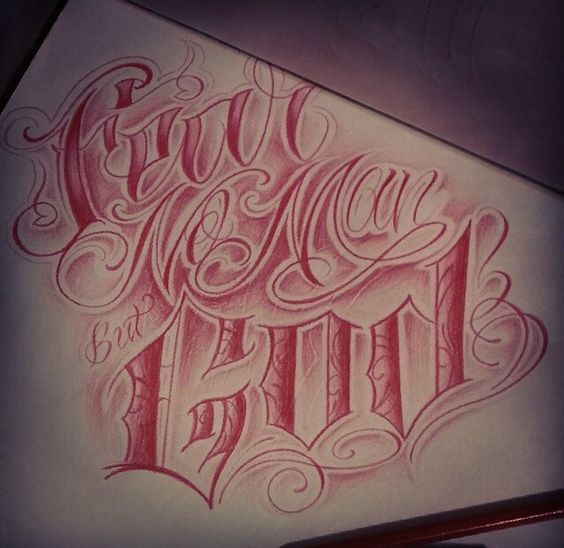 20 Trust No One But God Tattoos Ideas And Designs