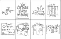 The Corporal Works of Mercy Mini Coloring Book- Free ...