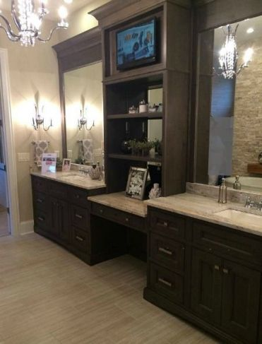 Television in bathroom design