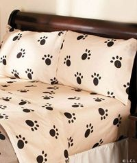 Dog paw prints, Twin sheets and Dog paws on Pinterest