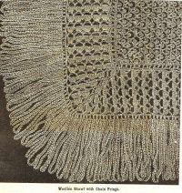 Victorian crochet shawls 13 | antique crochet | Pinterest ...