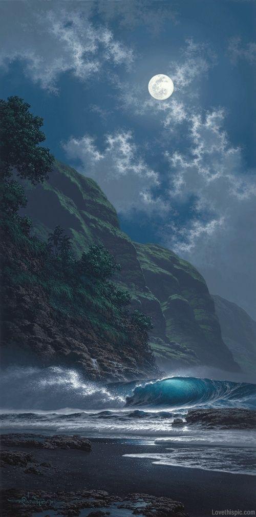 Black Sand Magic - giclee by ©Roy Tabora http://taborastudio.com: