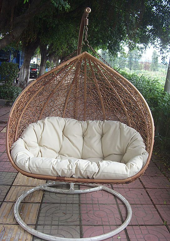 indoor rocking chair custom directors $200 http://www.aliexpress.com/item/casual-rattan-furniture-rattan-rocking-chair-bird-nest ...