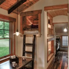 Wooden Beach Chairs Plans Painted Table And Images Tree House Loft Bed Rustic Kids With Built In Beds | Deco Pinterest Loft, Bunks ...