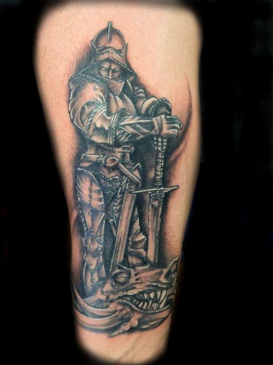 st george dragon tattoo tat ideas