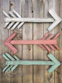 Reclaimed Wood Arrow - Nursery Room - Rustic Arrow - Arrow ...