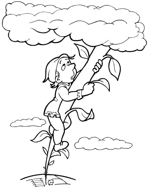 Jack and the beanstalk, Jack o'connell and Coloring pages