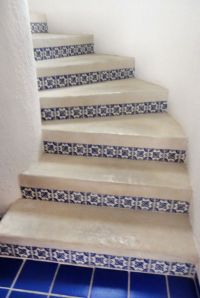 Mexican tiles, Tile and Tile stairs on Pinterest