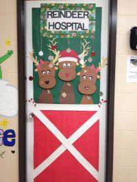 December nurses door   Christmas decorating   Pinterest ...
