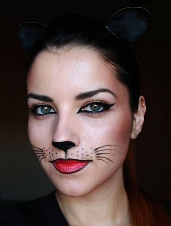 maquillage Chat femme