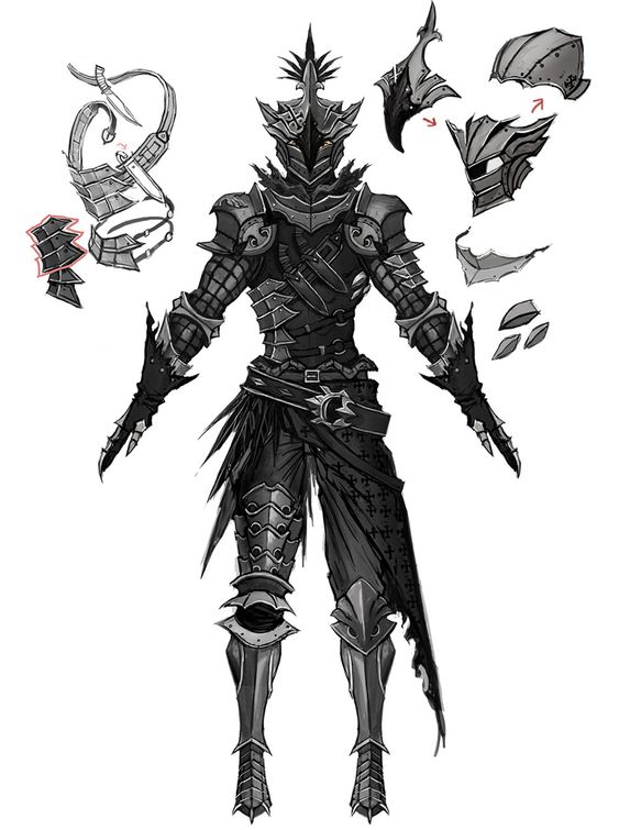 Armors, Rpg and Game on Pinterest