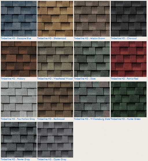 Gaf Timberline Hd #roofing Shingle Color Options Contact