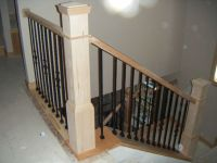 Stair railing, Railings and Wooden stairs on Pinterest