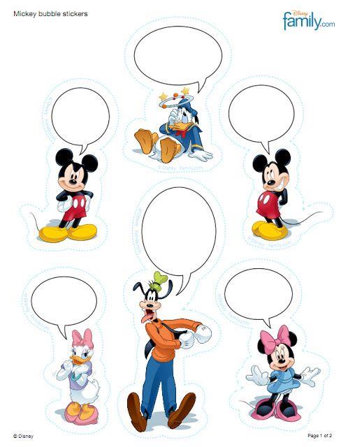 Disney Disney Parties And Free Printables On Pinterest
