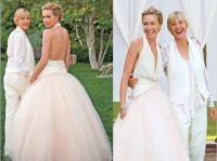 Portia De Rossi and Ellen Degeneres Wedding | Chic ...