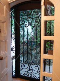 wrought iron storm doors | Door Designs Plans | door ...