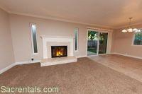 room half wood half carpet