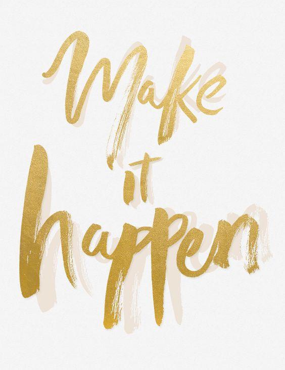 Motivational Monday? Make it happen!  http://www.integritymedicalaesthetics.com: