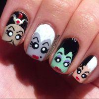 disney villains by somarlysiek #nail #nails #nailart ...
