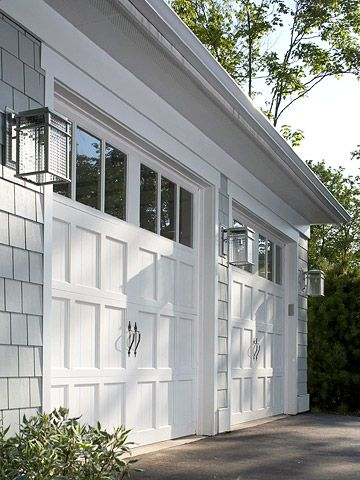 Top 5 ideas to improve your home appeal by using garage for Exterior garage lights