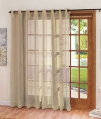 Extra-Wide Patio Door Curtain | For the Home | Pinterest ...
