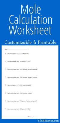 Mole, Worksheets and Science on Pinterest