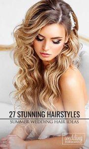 stunning summer wedding hairstyles