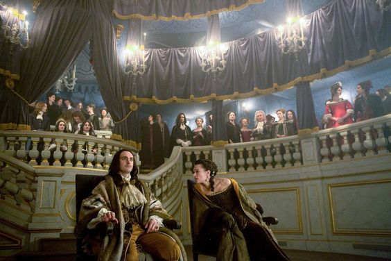 Images from season 2 of the canal+ series Versailles: