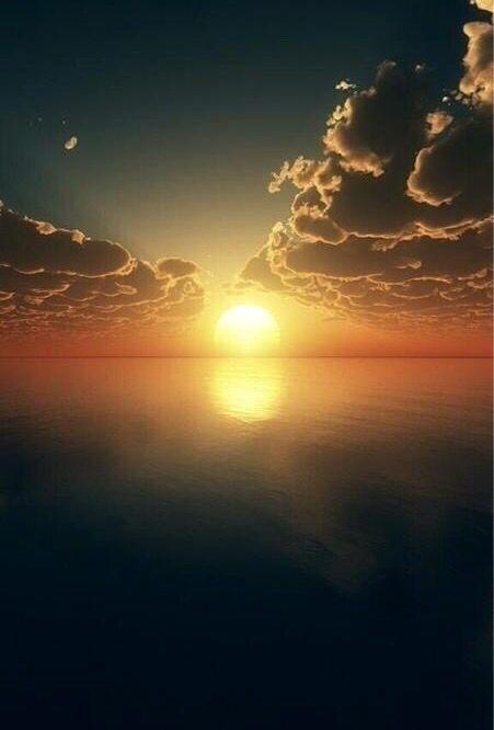 Peaceful sunset                                                       …: