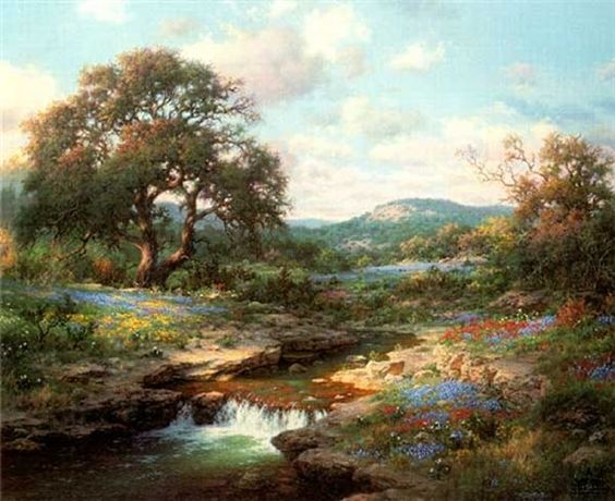 Hill Country Morning by Larry Dyke Art Pinterest
