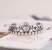 Compatible Pandora Princess Crown Ring 925 Silver ...