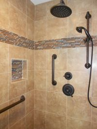 Plumbing From Delta, Venetian Bronze. Shower head, with