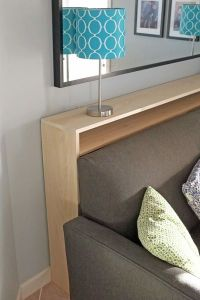 Console Table Bookshelf Tutorial | Electrical outlets ...