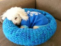 Crochet Patterns Pet Beds ~ wmperm.com for