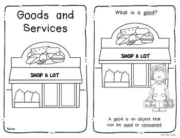 {Goods and Services} Emergent Reader Economics Social