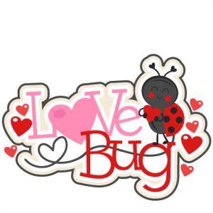 Download Love Bug Title SVG scrapbook cut file cute clipart files ...